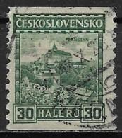 Czechoslovakia 1926. Scott #124 (U) Pernstein Castle - Czechoslovakia