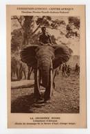 - CPA CENTRE AFRIQUE - EXPÉDITION CITROEN - LA CROISIÈRE NOIRE - L'éléphant D'Afrique - - Central African Republic
