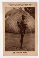- CPA CENTRE AFRIQUE - EXPÉDITION CITROEN - LA CROISIÈRE NOIRE - Une Femme Logo - - Central African Republic