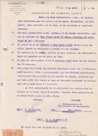 CONTRATO DE COMPRA VENTA, SACOS DE CEBADA ORGE BARLEY. AÑO 1920 IQUIQUE, CHILE. CON SELLOS FISCALES. G B LOCKETT -LILHU - Invoices & Commercial Documents