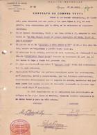 CONTRATO DE COMPRA VENTA, SACOS DE CEBADA ORGE BARLEY. AÑO 1920 IQUIQUE, CHILE. CON SELLOS FISCALES. E G LOAYZA -LILHU - Invoices & Commercial Documents