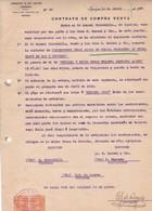 CONTRATO DE COMPRA VENTA, SACOS DE CEBADA BARLEY ORGE. AÑO 1920 IQUIQUE, CHILE. CON SELLOS FISCALES. E G LOAYZA -LILHU - Invoices & Commercial Documents