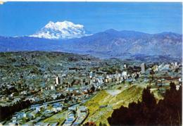 BOLIVIA  LA PAZ  Vista Panoramica Con Monte Illimani - Bolivia