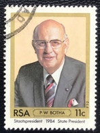RSA  - Republic Of South Africa - (o) Used - Ref 13 - 1984 - President P.W. Botha - Afrique Du Sud (1961-...)