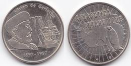 LOT 37  MEDAILLE SOUVENIR 100 ANS(1897-1997)  BELGIQUE  ADRIEN DE GERLACHE ANTARTICA-ANTARTIQUE  1997 - Belgium