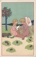 CPA - Fantaisie Illustrée - SCENE ENFANTINE - ANGE - Edition Bouasse-Jeune Cie - Angels