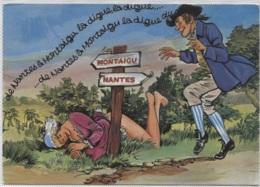 CPM - HUMOUR GRIVOIS - ILLUSTRATION ... Femme Dénudée - Edition Artaud - Humour