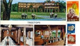 KENYA  KENIA  NYERI  Treetops  Nice Stamps - Kenya