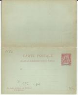 INDOCHINE ENTIER POSTAL CARTE POSTALE ACEP CP N° 5 - Autres