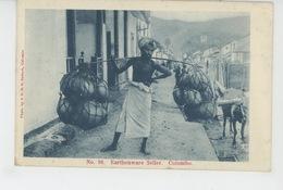 ASIE - SRI LANKA - CEYLON - COLOMBO - Earthenware Seller - Sri Lanka (Ceylon)