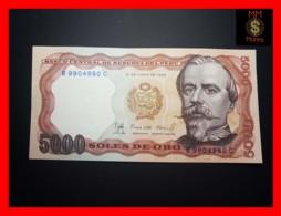 PERU 5.000 5000 Soles De Oro 22.7.1985  P. 117 C  UNC - Perù