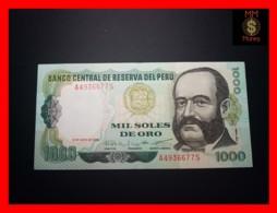 PERU 1.000 1000 Soles De Oro 3.5.1979  P. 118   XF - Perù