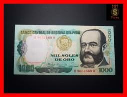 PERU 1.000 1000 Soles De Oro 5.11.1981  P. 122  UNC - Perù