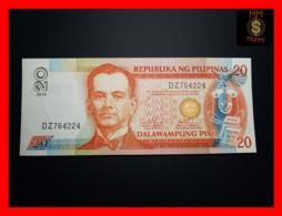 PHILIPPINES 20 Piso 2010 P. 182 K  Black Serial  UNC - Filippijnen