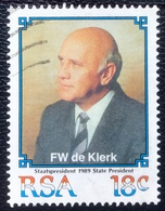 RSA  - Republic Of South Africa - (o) Used - Ref 13 - 1989 - President De Klerk - Afrique Du Sud (1961-...)