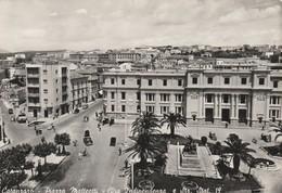 Cartolina - Postcard /  Viaggiata - Sent / Catanzaro, Piazza Matteotti  ( Gran Formato ) Anni 50° - Catanzaro