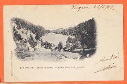 Nw244 Peu Commun Etang CARLIT (66) Etang Long De PRADEILLES 1902 à Augustin HOSTALRICH Saint-Tropez PY-OLIVER - France