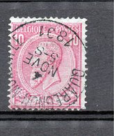 Belgie - Belgique - Leopold II - Capon -  Quaregnon Monsville - 1884-1891 Léopold II