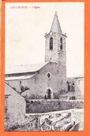 Nw266 Edition Rare SAILLAGOUSE (66) Clocher Et Eglise Taxé 1921 à BOUTET Port-Vendres VERGES - Autres Communes