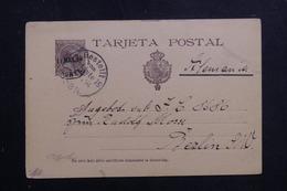 ESPAGNE - Entier Postal De Zumarraga Pour L 'Allemagne En 1894 - L 61528 - 1850-1931