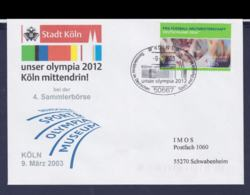 Germany  Cover 2012 Olympic Games - German National Candidate Köln 2003 Kölner Unterstützen Unser - Sommer 2012: London
