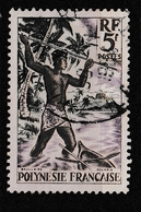 POLYNESIE YT 6  Oblitéré - Polynésie Française