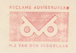 Meter Cut Netherlands 1964 - Postalia 868 Bird - Owl - Vogels