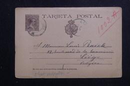 ESPAGNE - Entier Postal De Malaga Pour La Belgique En 1891 - L 61529 - 1850-1931