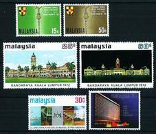 Malasia Nº 46/7-100/1-122/3 Nuevo - Malaysia (1964-...)
