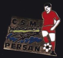 65289-Pin's.Football.CSM Persan. - Football