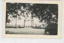 """ASIE - VIET NAM - HAÏPHONG - Carte Photo De L'appontement Du Bateau """"LE JULES VERNE """" En 1951 - Vietnam"""
