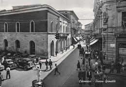 Cartolina - Postcard /  Viaggiata -  Sent /  Catanzaro, Piazza Grimaldi. ( Gran Formato ) Anni 50° - Catanzaro