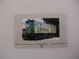 Train Junta De Freguesia Do Entroncamento Portugal Portuguese Pocket Calendar 1999 - Calendars