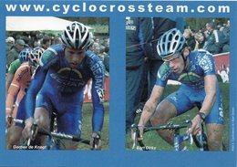 Cyclisme, Gerben De Knegt & Bart Dirkx - Ciclismo