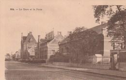 Ath. La Gare Et La Poste.  Scan - Ath