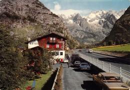 Cartolina Courmayeur Albergo Svizzero - Italy