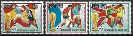 HAUTE VOLTA  -  Poste Aérienne  -1974 . Y&T N° 171 à 173 Oblitérés.   Mondial De Foot Munich - Alto Volta (1958-1984)