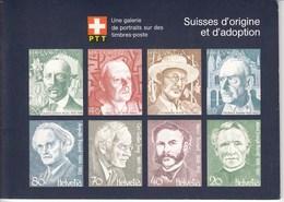 #142 Cahiers Souvenir Portrait V & VI Avec Timbres Neufs. - Svizzera