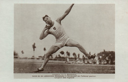 Athlétisme - Lancer Du Poids, Pentathlon, Décathlon - Langbein (V.F.L. Brandenburg, Allemagne) Beim Kugelstoßen - Athletics
