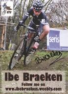 Cyclisme, Ibe Braeken - Ciclismo