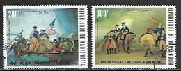 HAUTE VOLTA   -  Poste Aérienne  - 1975 . Y&T N°188 à 189 Oblitérés.   Bicentenaire Des  Etats - Unis - Alto Volta (1958-1984)
