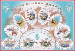 France BF N°  86 ** (3795 à 3800) Coupe GORDON BENNETT - Automobiles De Course - Circuit - - Blocs & Feuillets
