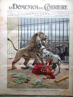 La Domenica Del Corriere 28 Luglio 1901 Studenti Parigini Ferrara Tevere Torino - Libri, Riviste, Fumetti