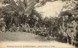 MISSIONS DES P P DU SAINT ESPRIT GRAND PALABRE DE VILLAGE - Missions