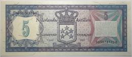 Antilles Néerlandaises - 5 Gulden - 1984 - PICK 15b - NEUF - Other - America