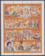 Libye N° 2047 / 62 XX A La& Mémoires Des Déportés Libyens, Les 16  Vals Ss Ch. Imprimées En Une Petite Feuille, TB - Libië