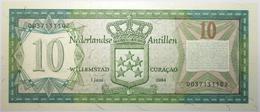 Antilles Néerlandaises - 10 Gulden - 1984 - PICK 16b - NEUF - Other - America
