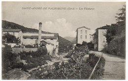 Cpa Saint André De Valborgne - Les Filatures - France