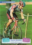 Cyclisme, Björn Rondelez - Ciclismo