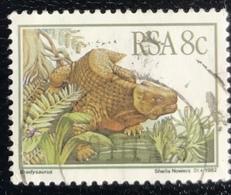 RSA  - Republic Of South Africa - (o) Used - Ref 14 - 1982 - Prehistorische Dieren - África Del Sur (1961-...)